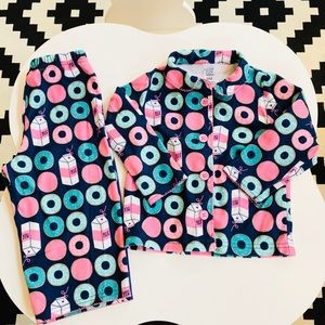🌸5 for $20🌸Carter's donuts pajama set